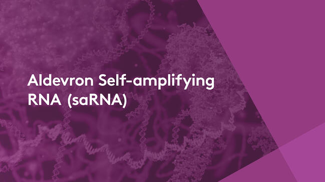 Aldevron now offering saRNA